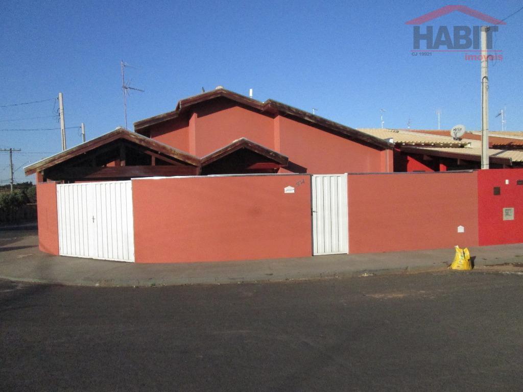 Casa Residencial à venda, Residencial Parati, Bebedouro - CA0644.