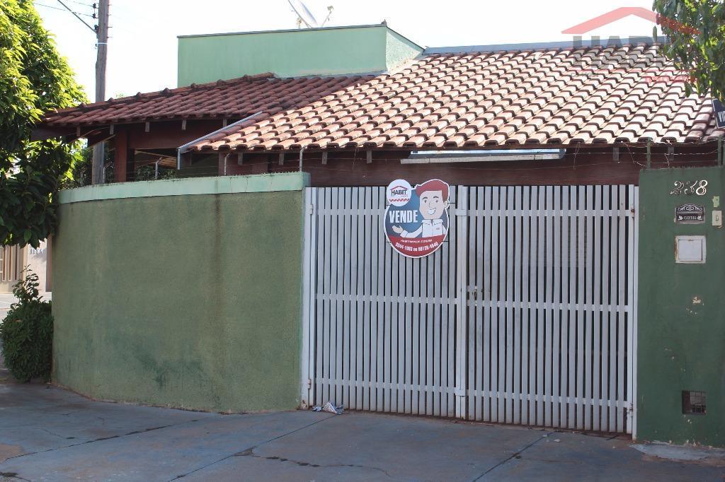 Casa residencial à venda, Residencial Antonia Santaella, Bebedouro.