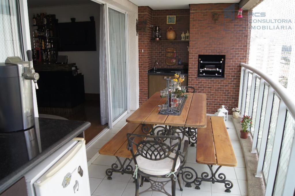 Vila Leopoldina - Lindo Apartamento - Terraço Gourmet - 03 Vagas - Permuta