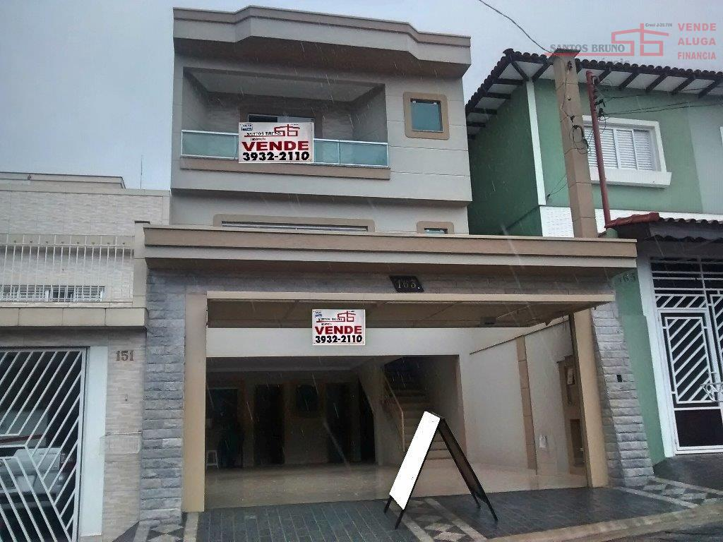 Sobrado residencial à venda, Chácara Inglesa, São Paulo - SO0092.