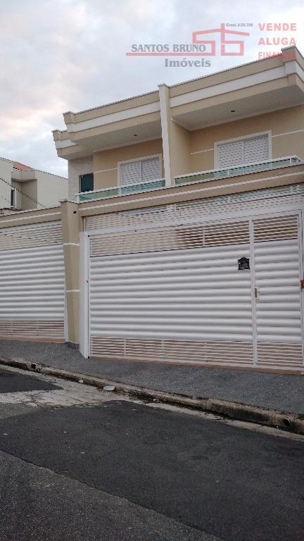 Sobrado residencial à venda, Vila Carolina, São Paulo.