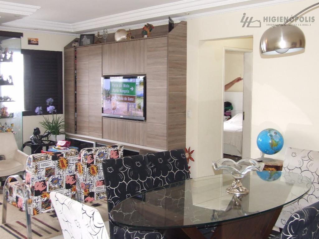 Apartamento residencial à venda, Vila Apiaí, Santo André - AP0426.
