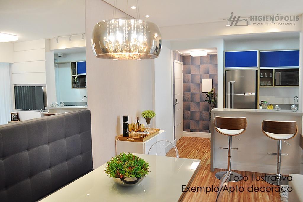 Apartamento no Bairro Jardim mobiliado com 2 suítes, sacada grill andar alto no Bairro Jardim, SA