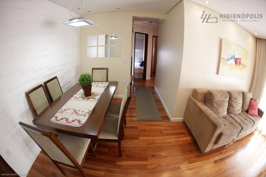 Apartamento residencial à venda, Vila Gilda, Santo André - AP0786.