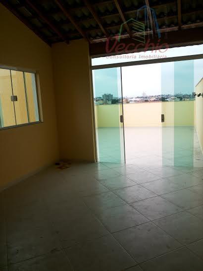 Cobertura  residencial à venda, Vila Camilópolis, Santo André.