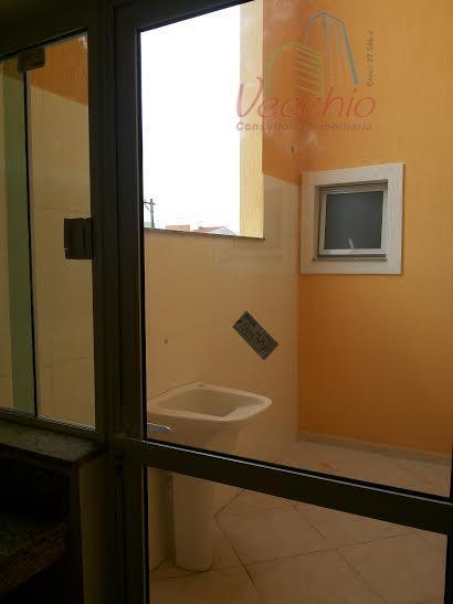 02 dormitórios, suite, sala, cozinha, cobertura, 02 vaga de garagem.