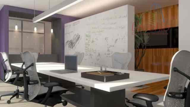 sala comercial com 30,81 m2 , ar condicionado, em excelente localização na avenida industrial com sacada...