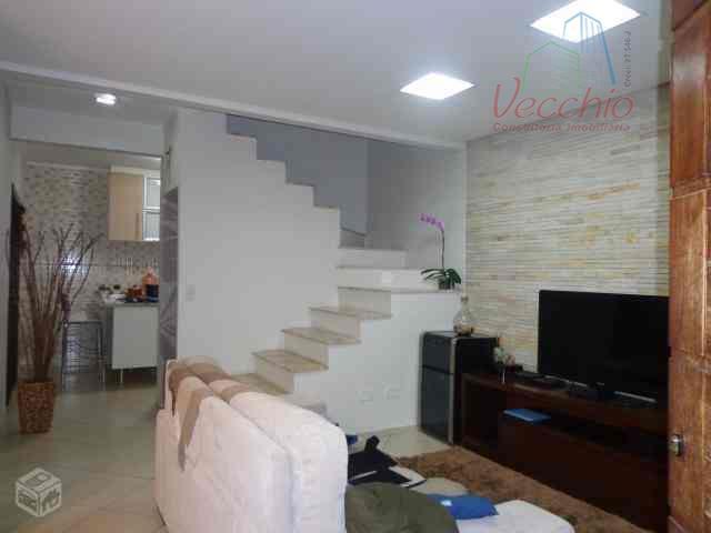 Sobrado residencial à venda, Utinga, Santo André - SO0121.