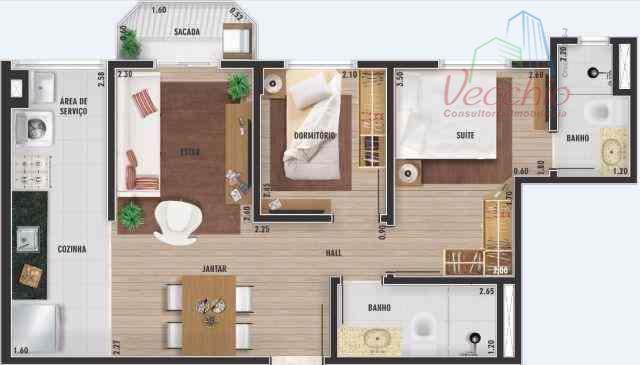 Apartamento Residencial à venda, Vila Camilópolis, Santo André - AP0409.