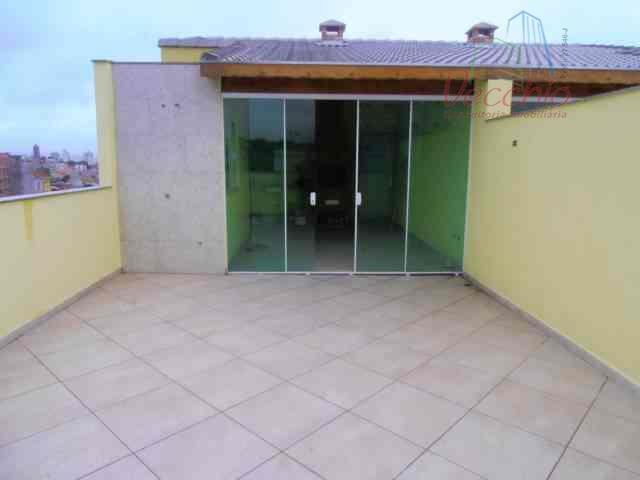 Cobertura residencial à venda, Vila Camilópolis, Santo André - AP0164.