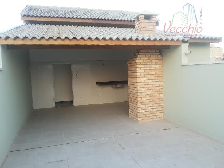 Cobertura residencial à venda, Vila Metalúrgica, Santo André - CO0008.