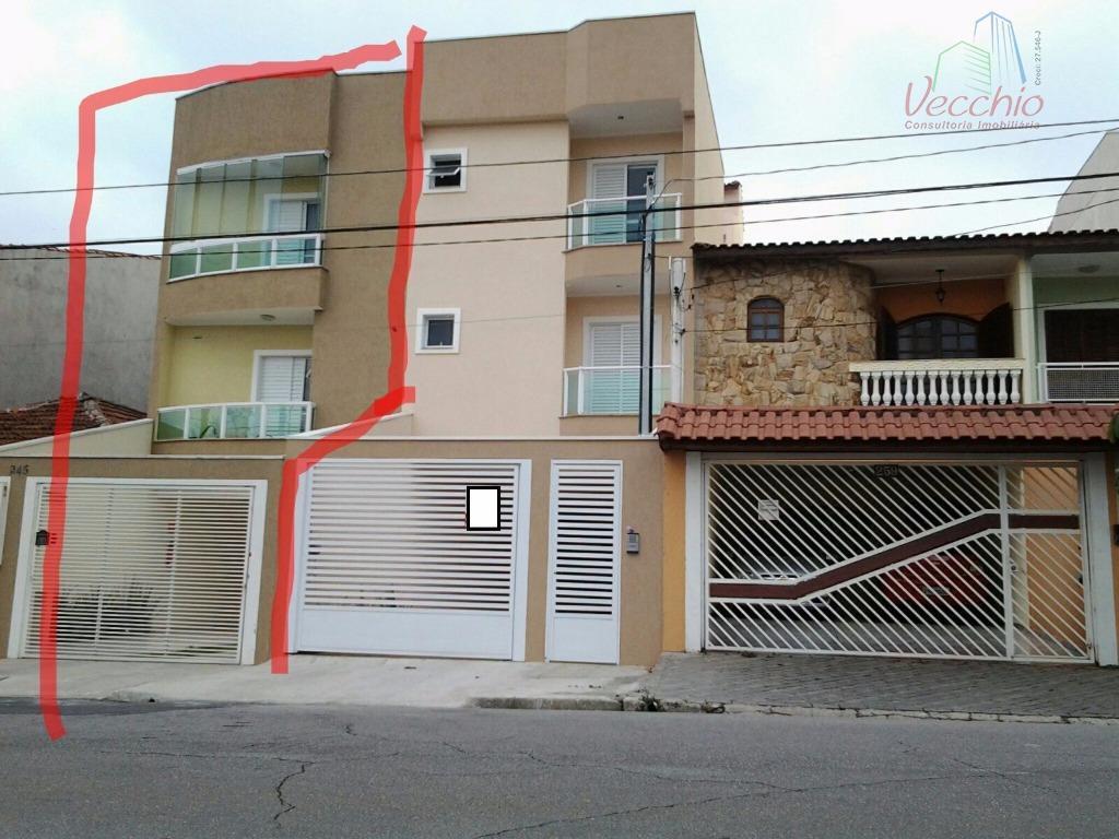 Cobertura residencial à venda, Vila Metalúrgica, Santo André - AP0434.