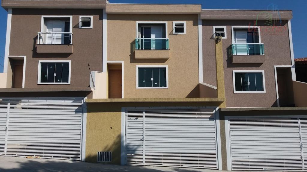Sobrado residencial à venda, Utinga, Santo André - CA0127.
