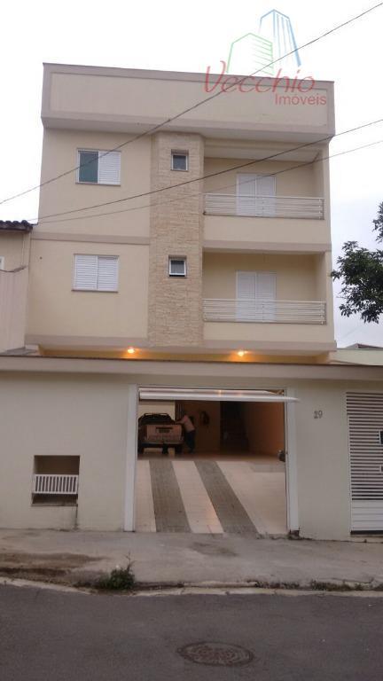 Cobertura residencial à venda, Vila Metalúrgica, Santo André - CO0045.