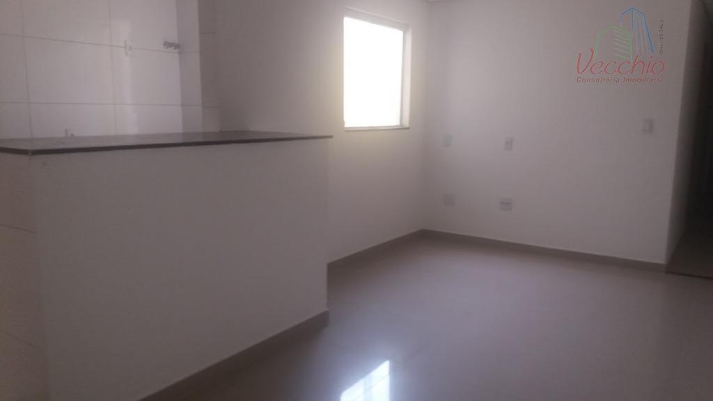 apto. de frente - 03 dormitórios, suite, sala, cozinha, área de serviço, 01 vaga de garagem....
