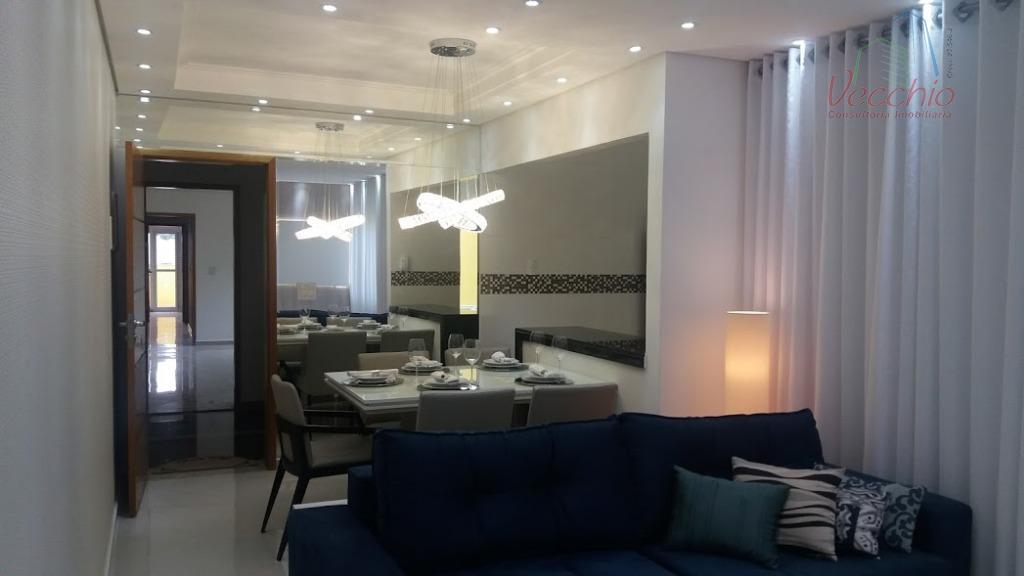 Apartamento residencial à venda, Vila Metalúrgica, Santo André - AP0594.