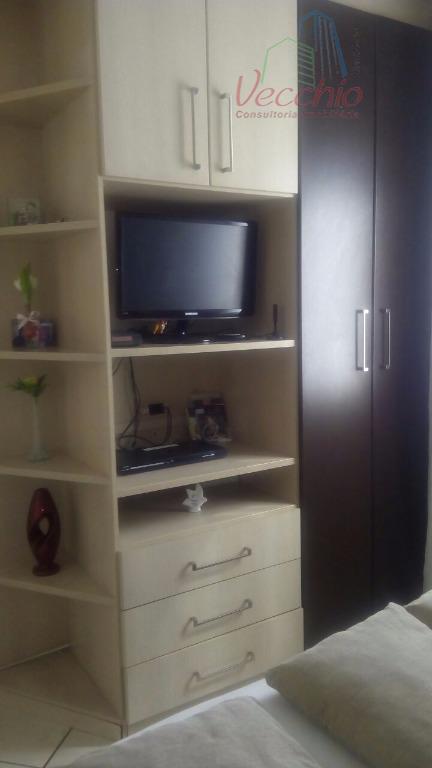 apto. lindo com todos os moveis planejados, 02 dormitórios, sala, cozinha, wc, área de serviço, sacada,...