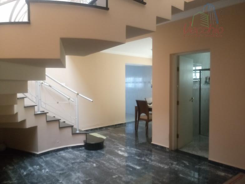 Sobrado residencial à venda, Jardim Ocara, Santo André.
