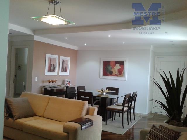 Apartamento residencial à venda, Vila Augusta, Guarulhos - AP0448.