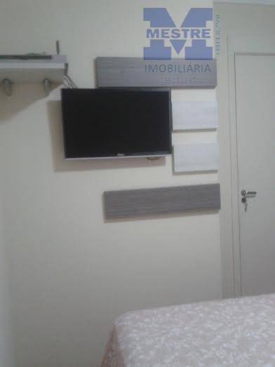 apartamento 02 dormitórios móveis planejados, piso laminado, sala 02 ambientes, sem sacada, cozinha com armários, lazer...