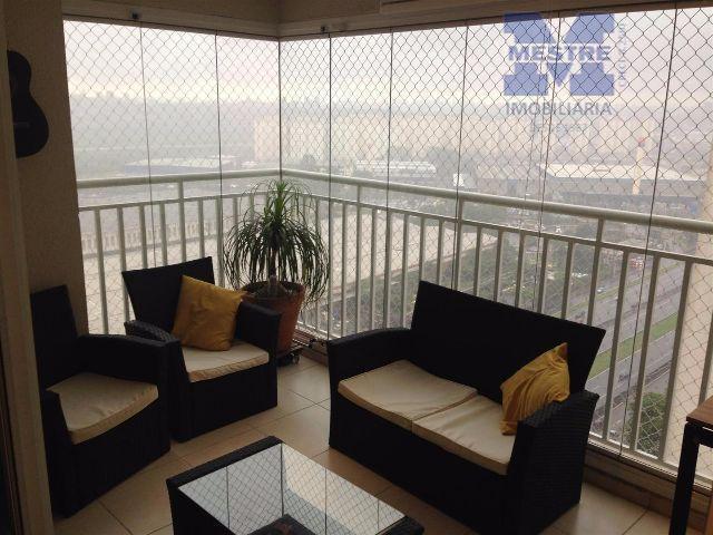Apartamento residencial à venda, Vila Augusta, Guarulhos - AP0763.
