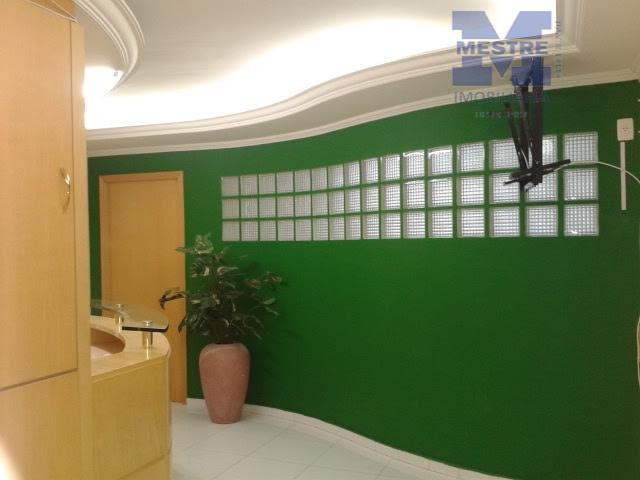 Sala comercial para locação, Vila Pedro Moreira, Guarulhos - SA0113.