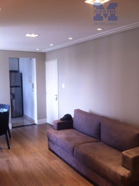 Apartamento residencial à venda, semi mobiliado Macedo, Guarulhos.