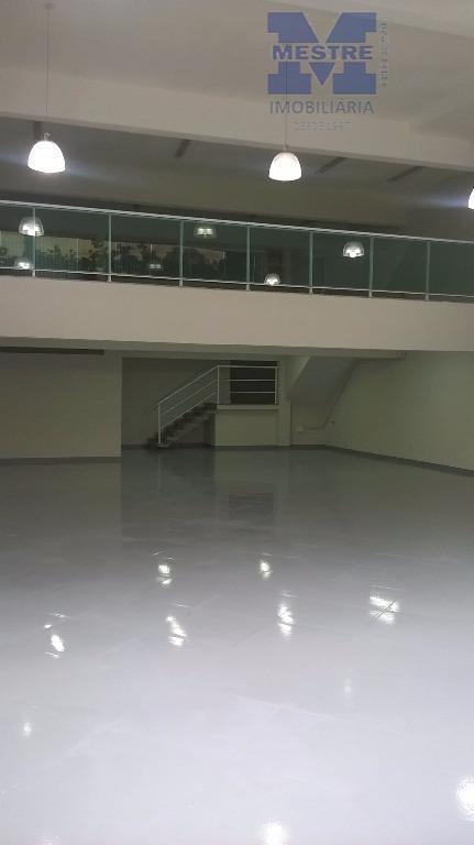 Galpão comercial para locação, Centro, Guarulhos.