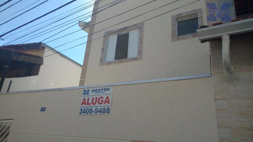 Kitnet NOVA residencial para locação, Vila Fátima, Guarulhos.