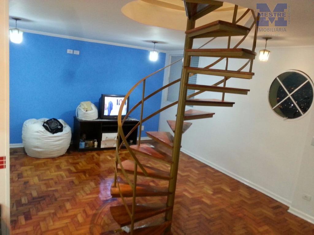 Apartamento Duplex residencial à venda, Jardim Santa Mena, Guarulhos.