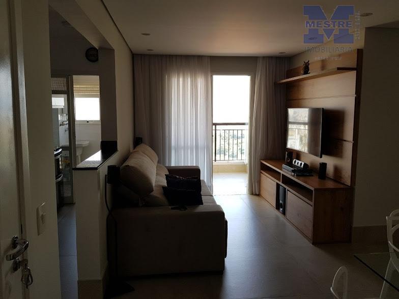 Apartamento residencial à venda, Vila Augusta, Guarulhos - AP1230.