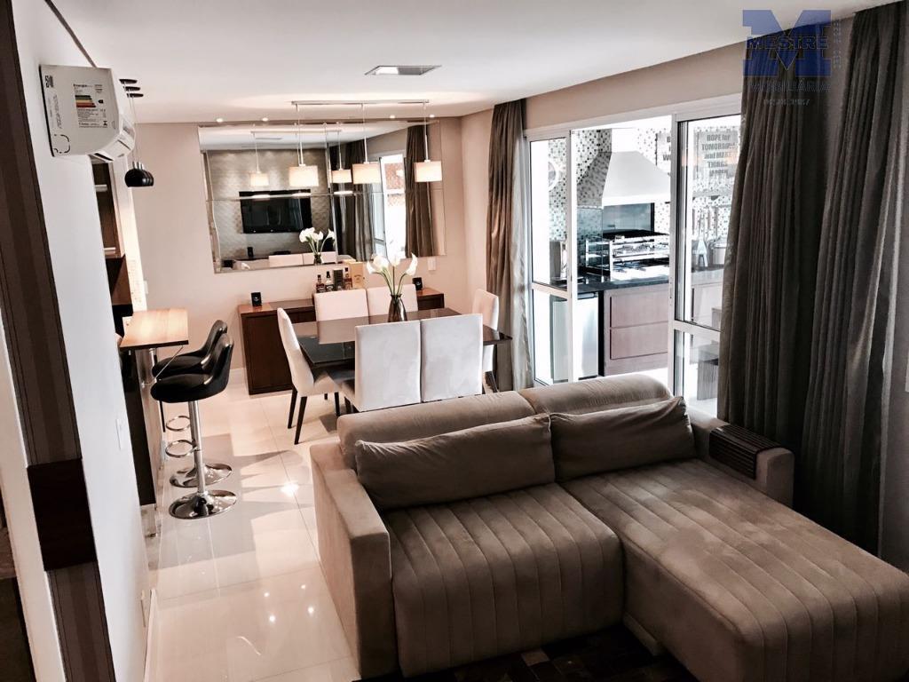 apto. com 114m2 de área útil, . com 02 suítes, sala 02 ambientes, varanda gourmet, 02...