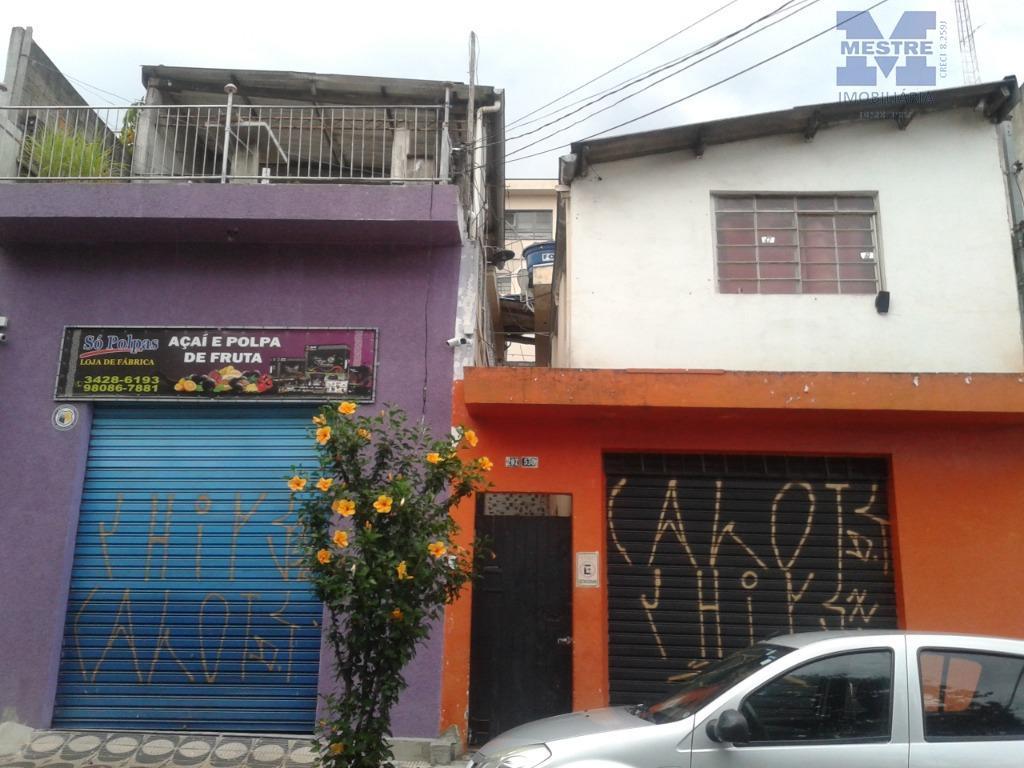Casa Sobrada a Venda, também para renda, (05 casas),terreno 10 x 25, R$ 900 Mil Gopouva
