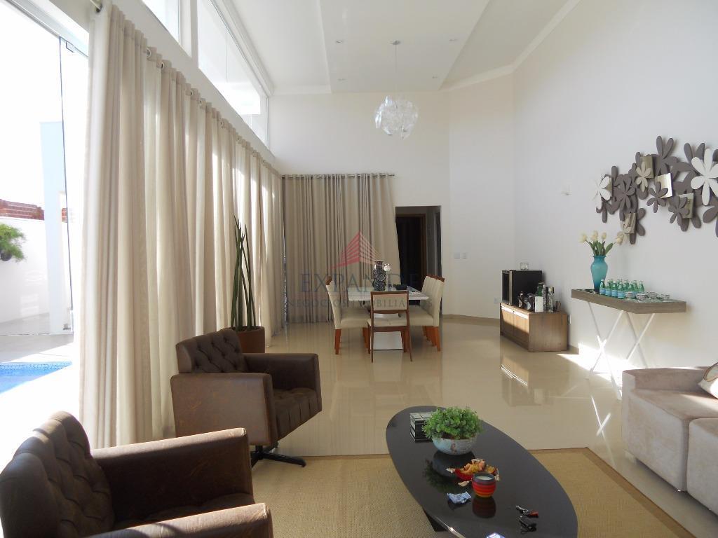 Casa residencial à venda, Residencial Villa Lobos, Bauru - CA0183.