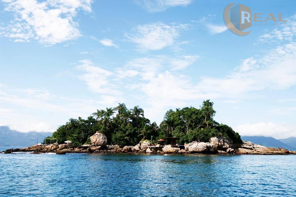 Maravilhosa Ilha em Angra dos Reis, lugar paradisíaco, vista deslumbrante
