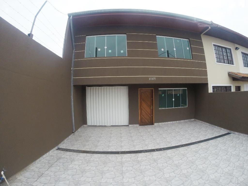 Sobrado residencial à venda, Boqueirão, Curitiba - SO0478.