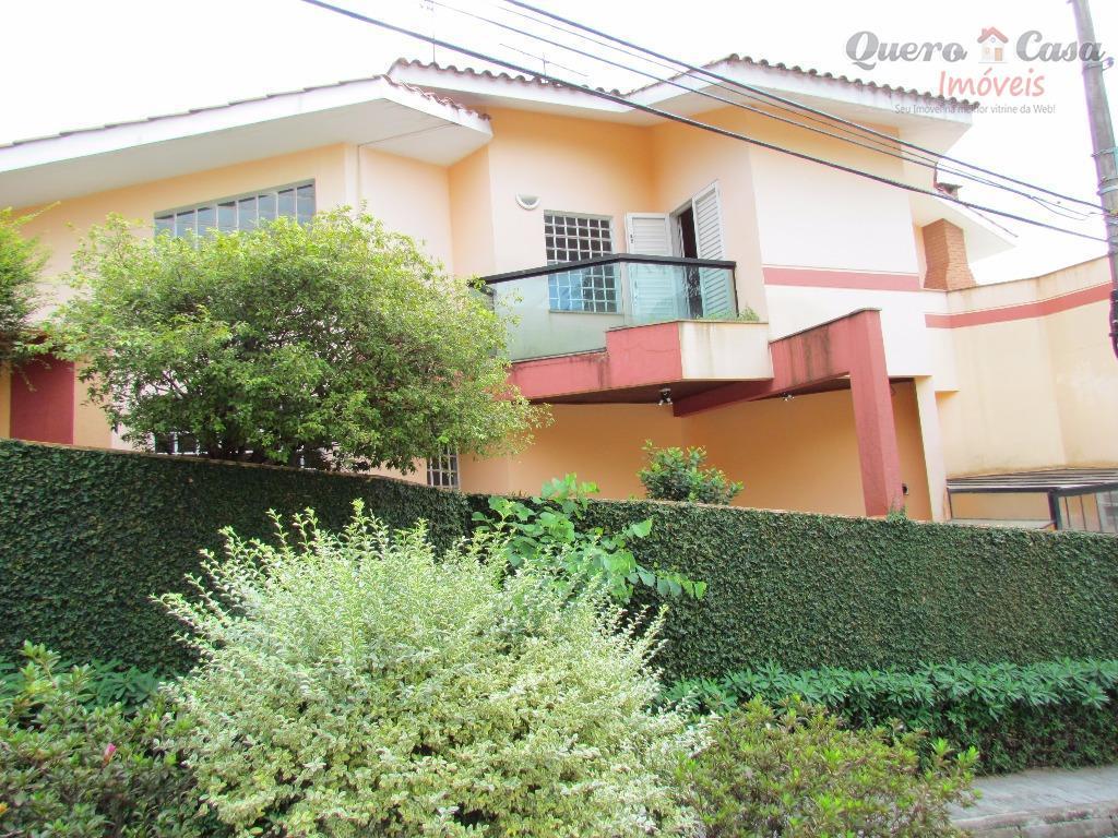 Sobrado  residencial à venda: 5 Dormitórios, Suíte, 3 Salas,