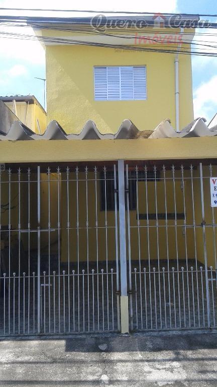 Sobrado  residencial à venda, Jardim Eliana, Guarulhos.