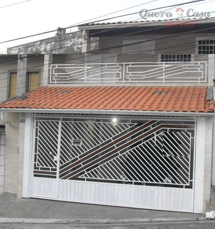Sobrado  residencial à venda, Vila Nossa Senhora de Fátima,