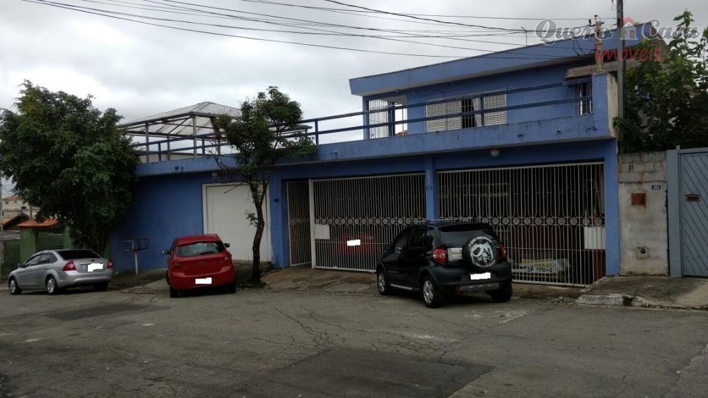 Sobrado residencial à venda, Jardim América, Guarulhos.