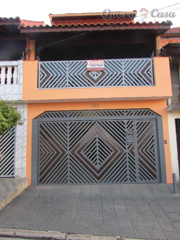 Sobrado residencial para venda, Jardim Marek, Santo André.