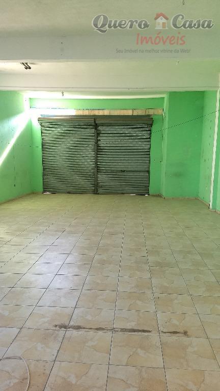Salão comercial para locação, Jardim Santa Lídia, Guarulhos.