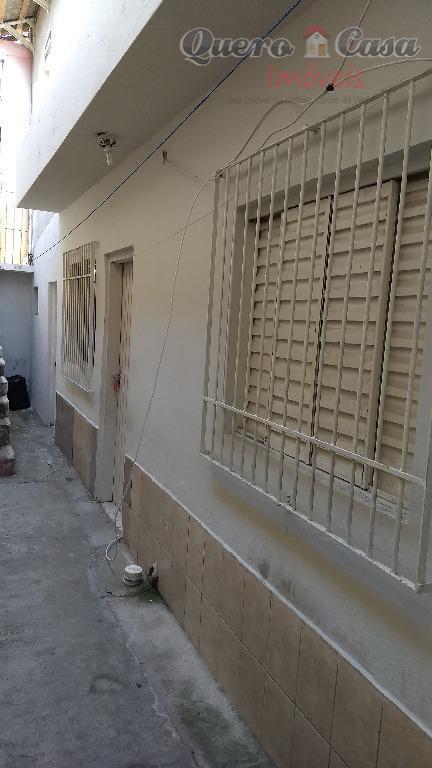 Salão com duas Casas à venda, 100 m² por R$ 350.000 - Vila V