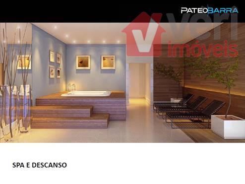 pateo barra apto de 117m² 3 dorms 2 vagas na barra funda com lazer completo. projeto...