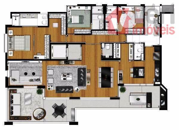 perdizes, apto pronto para morar com 221m² com 04 suites, com 04 vagas grandes de garagem....