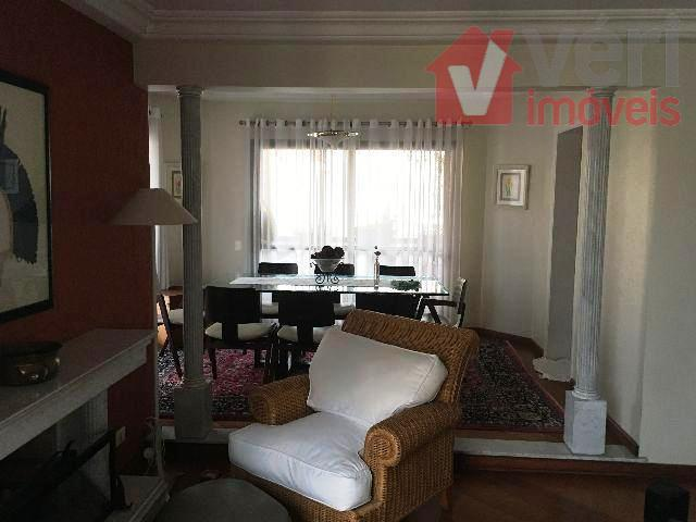 perdizes nobre, apartamento próximo à puc com 205m², 3 suítes, escritório, dep de empregada, sala de...