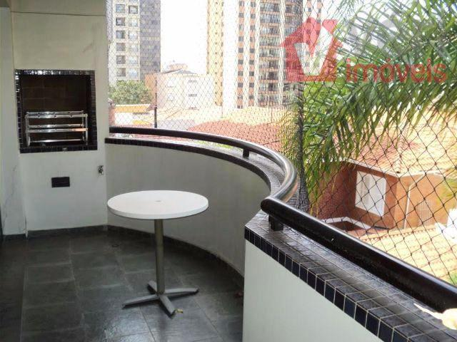 Perdizes Nobre 123m 3 Dorms 2 Vagas Varanda com Churrasqueira + Deposito