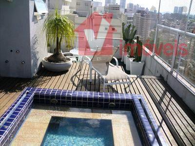 Cobertura Cidade Sao francisco 300m 3 Suites 4Vagas Spa Sauna Churrasqueira