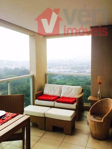 Leopoldina 95m 3 Dorms 2 Vagas Varanda Gourmet Andar Alto com Bela Vista