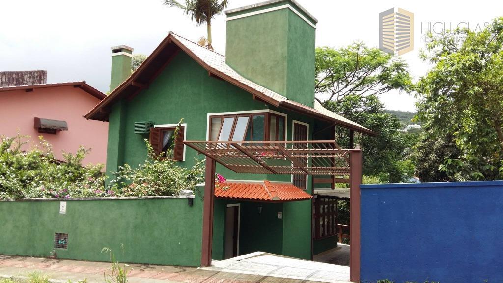 Casa residencial à venda, Córrego Grande, Florianópolis.